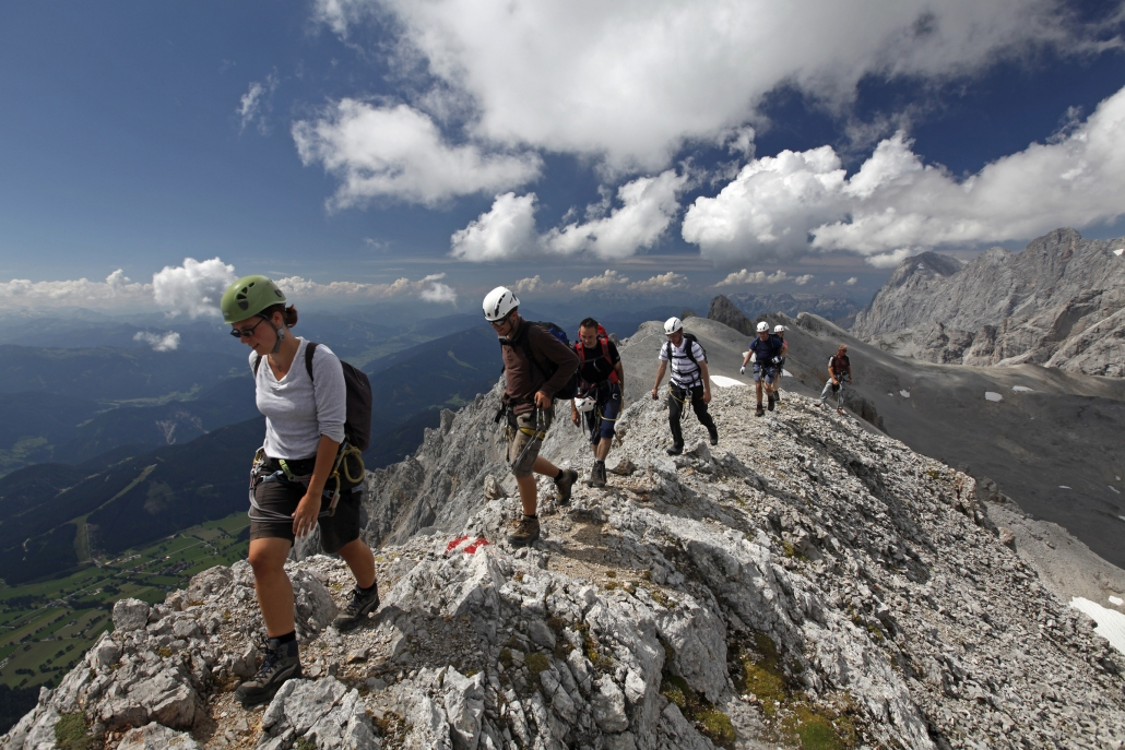 Berg- und Klettersteig Touren im Dachstein Gebiet, Ramsau am Dachstein
