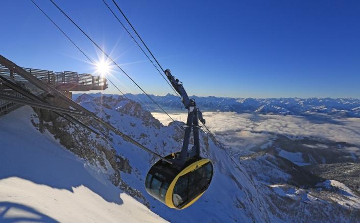 Gletscher Erlebnis Dachstein - Panoramagondel und Skywalk