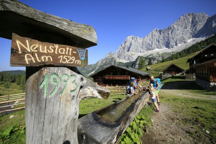 Familienurlaub in prächtiger Natur - Ramsau am Dachstein