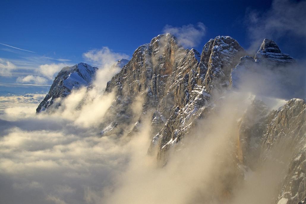 mächtiges Dachstein Massiv - Ramsau am Dachstein